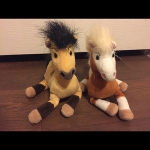 Spirit & Rain Plush Stallion Of Cimarron